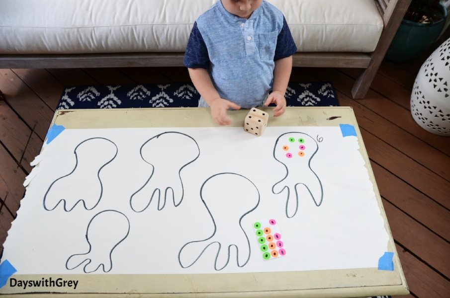 number activity for preschoolers