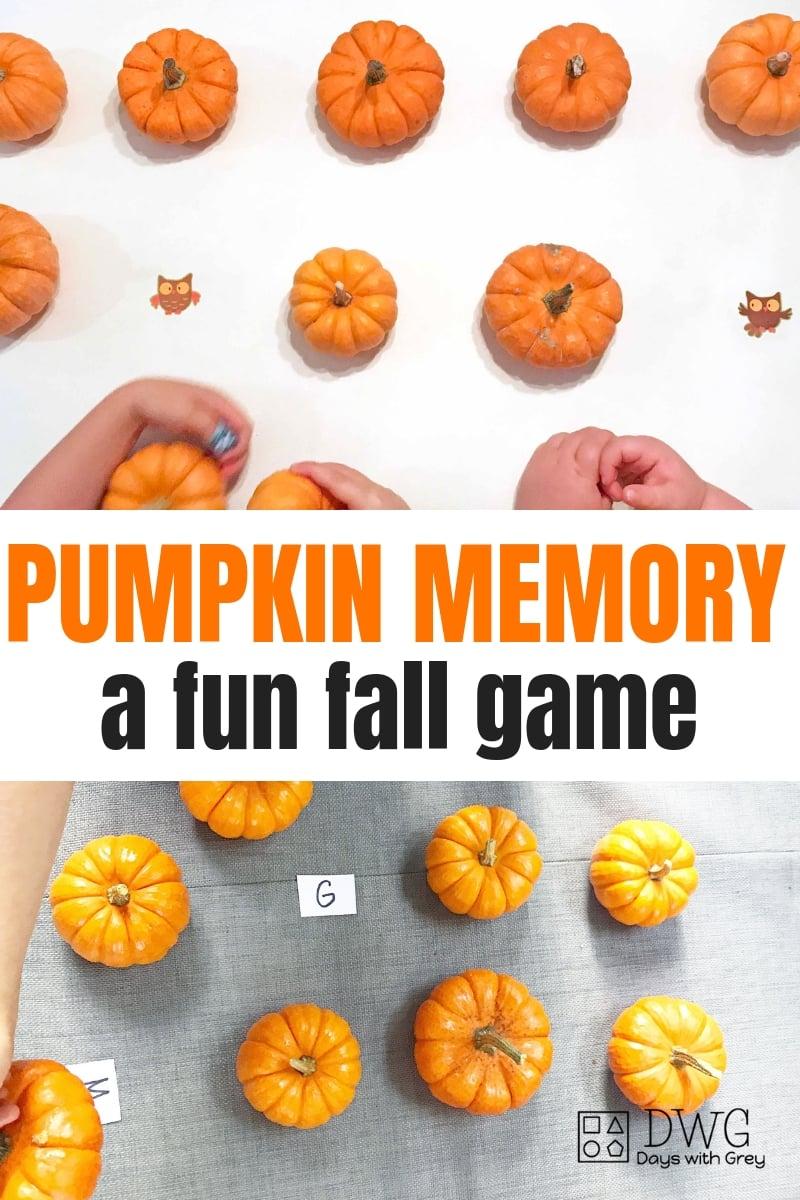 Fall alphabet activity