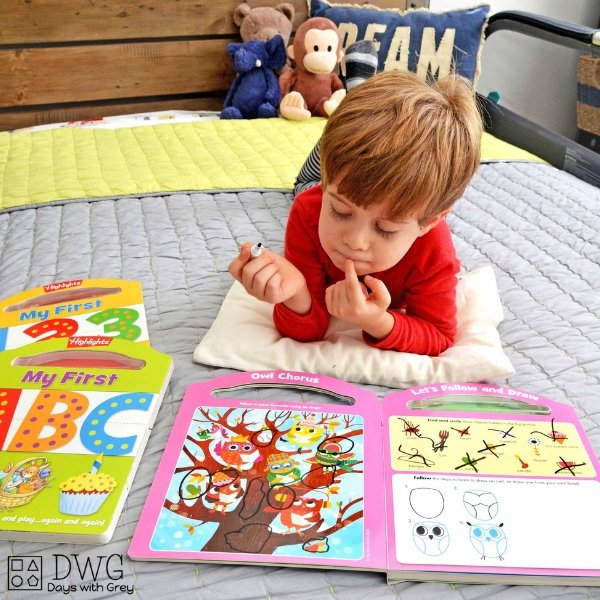 Bedtime Routine for Kids Using Highlights