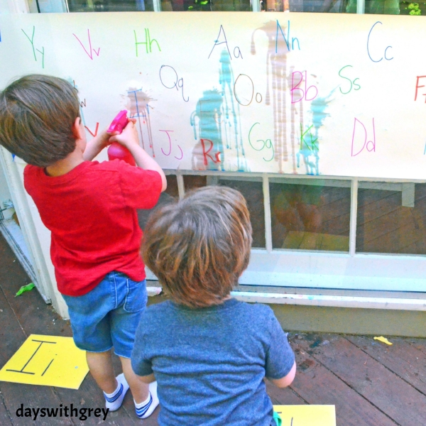 alphabet activity for preschoolers