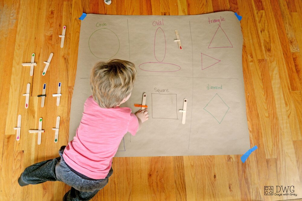 shape activities for toddlers