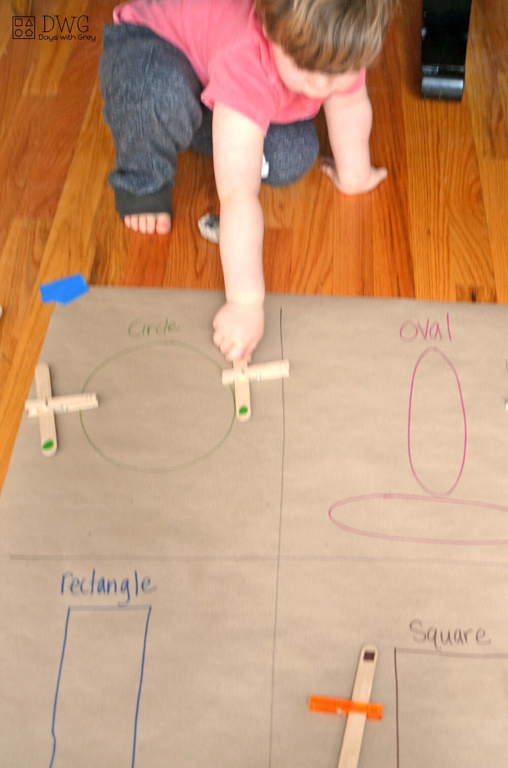 shape activity for toddlers