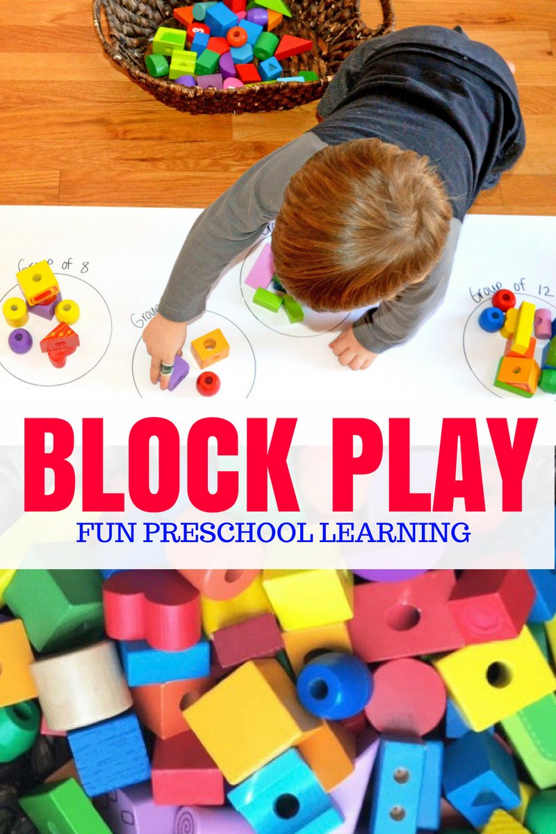 Block Play for Preschool Learning