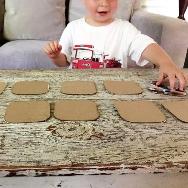 preschool memory game