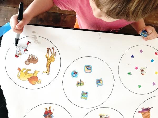 indoor preschool activity