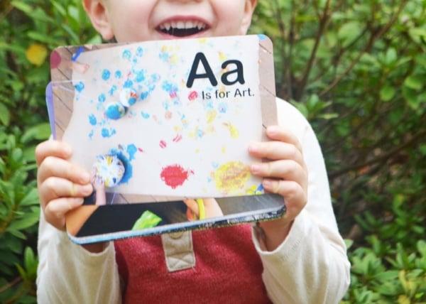Alphabet Activity Cards Gift