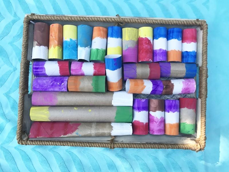 preschool color matching activity