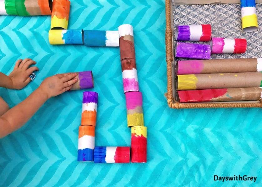 DIY color game