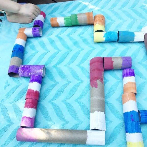 preschool color matching game