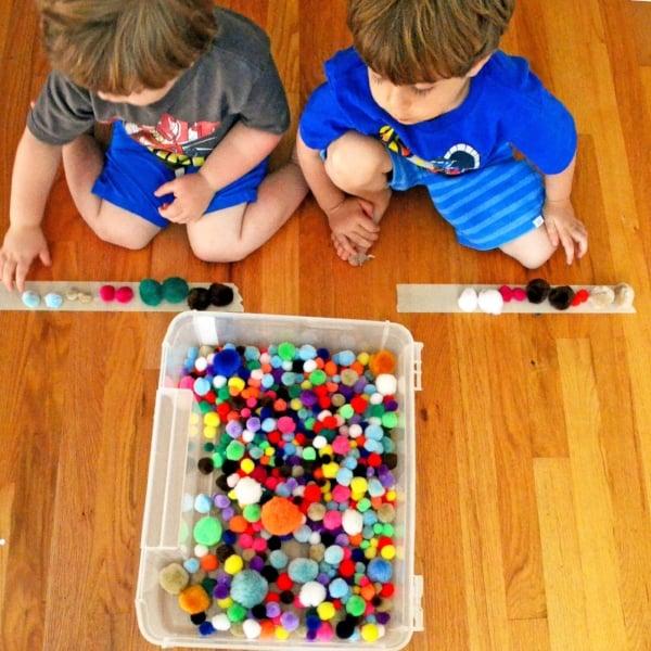 indoor preschool game
