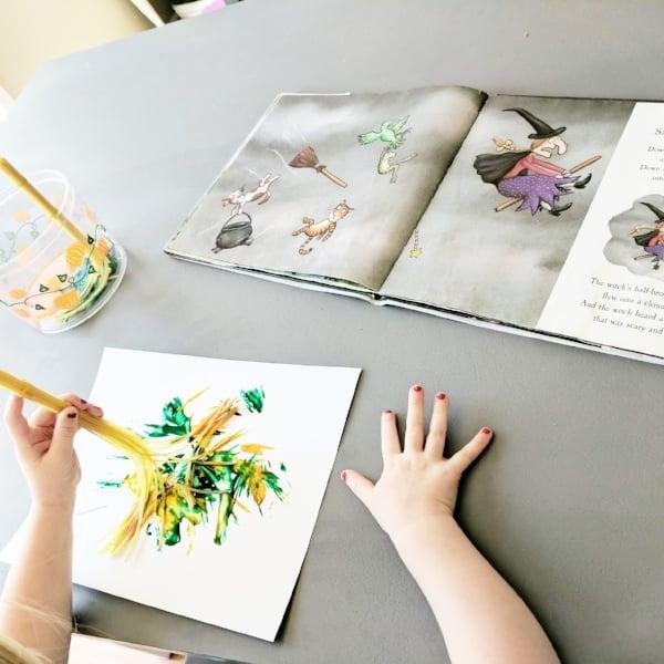 preschool book activities