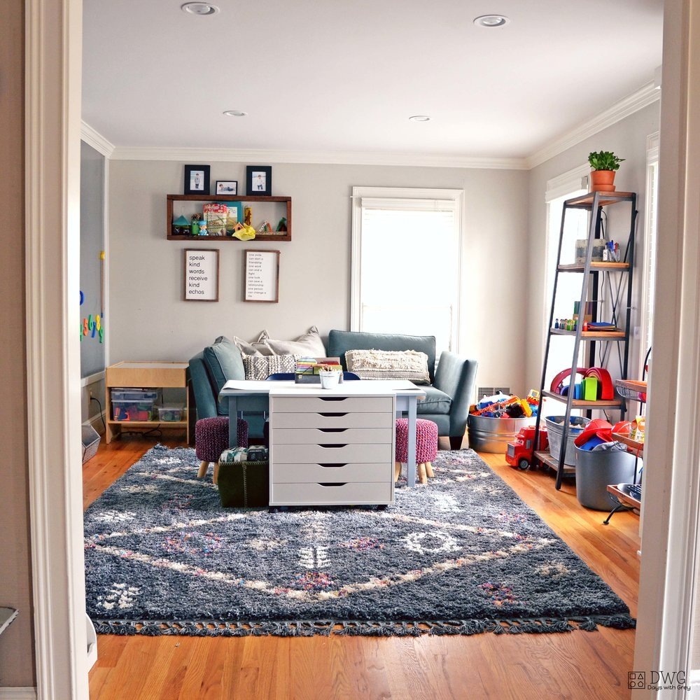 Playroom ideas, storage, and design ideas for kids