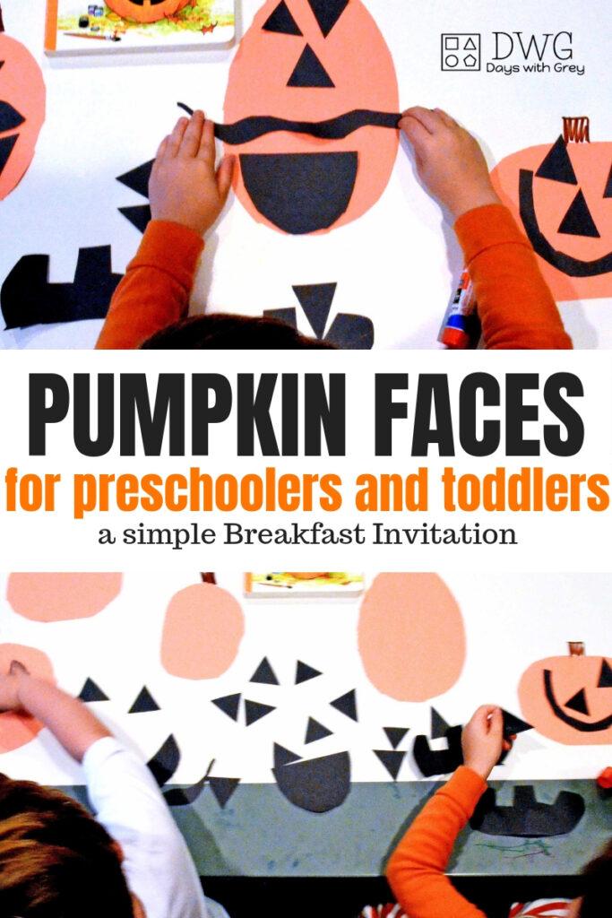 pumpkin activities for preschool