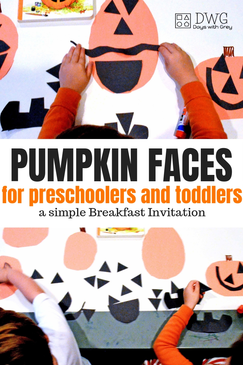 pumpkin activities for preschool, toddler and kindergarten. Fall ideas for kids, Breakfast Invitation.jpg