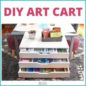 Art Cart – Kids Art Supply Organization