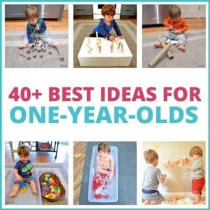 40+ Best Activities for One-Year-Olds