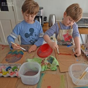 Easter Art Projects for Kids – Painting Kept Simple