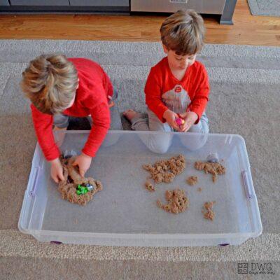sensory bin for preschool