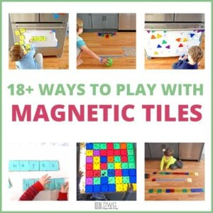 Play Ideas  for Magnetic Tiles