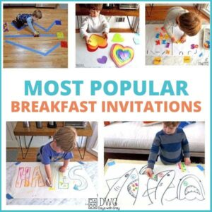 Top Preschool Activities for Breakfast Invitations