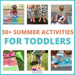 30 Summer Activities (the best) for Toddlers