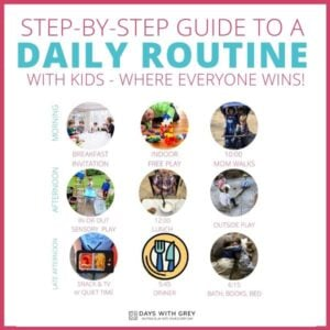 How to Make a Daily Schedule with Kids