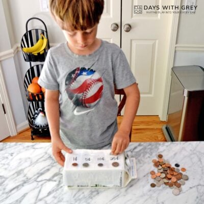 Kindergarten money activity