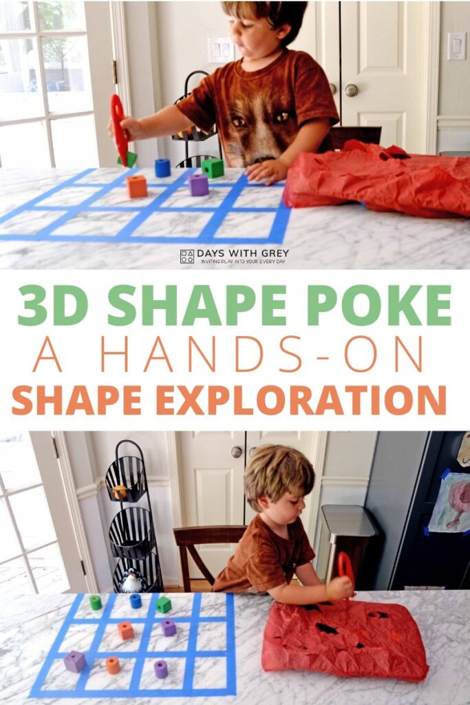 hands-on shape activity