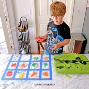 Poke the Alphabet: a Hands-on Alphabet Activity for Preschoolers