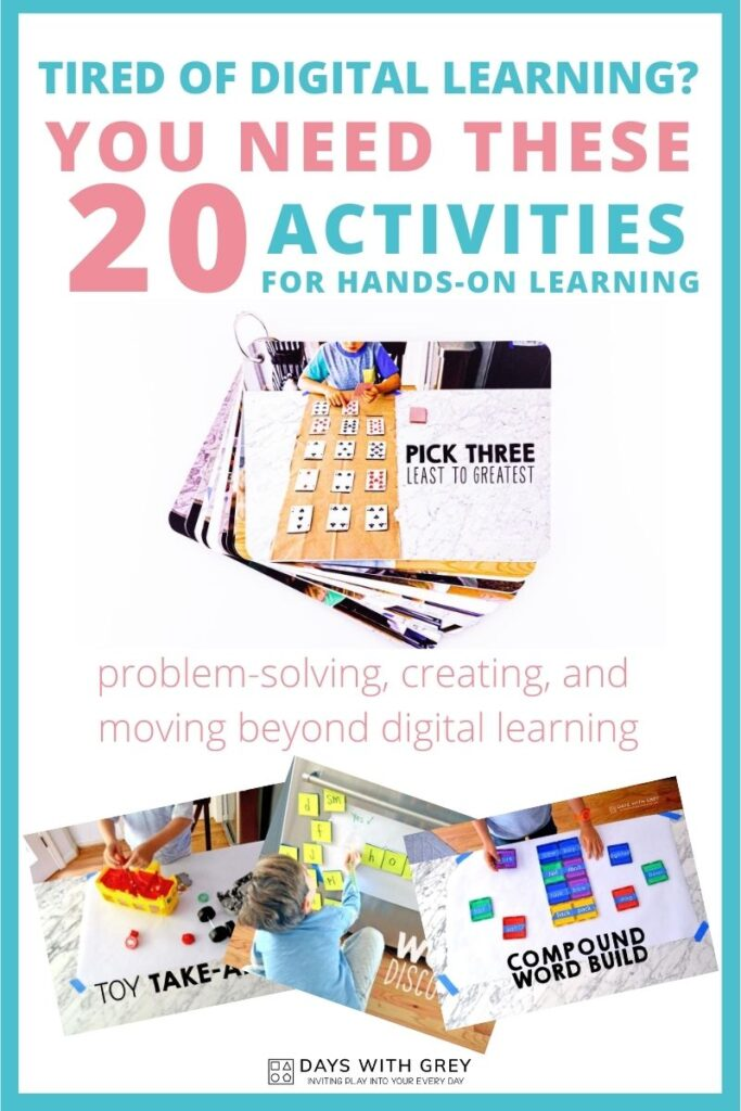20 activities to do with kids at home