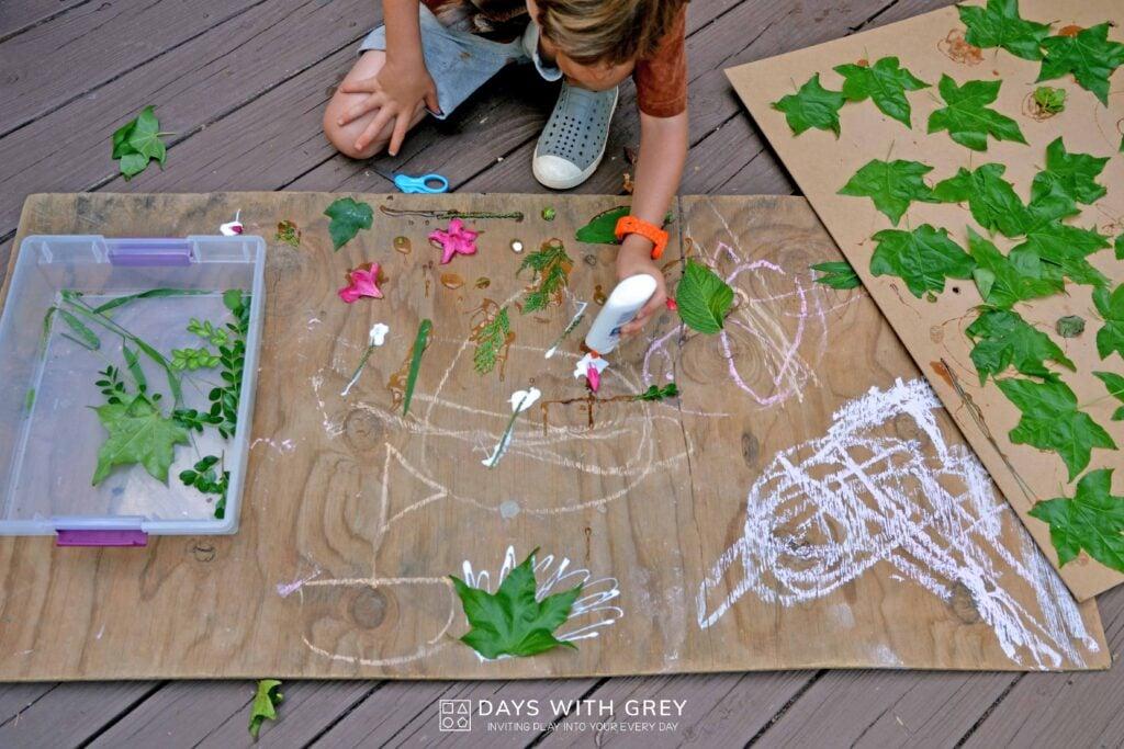outdoor art ideas