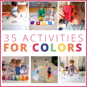 35+ Brilliant Color Activities