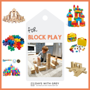 Block Play; the Blocks and Building Toys to Get Started
