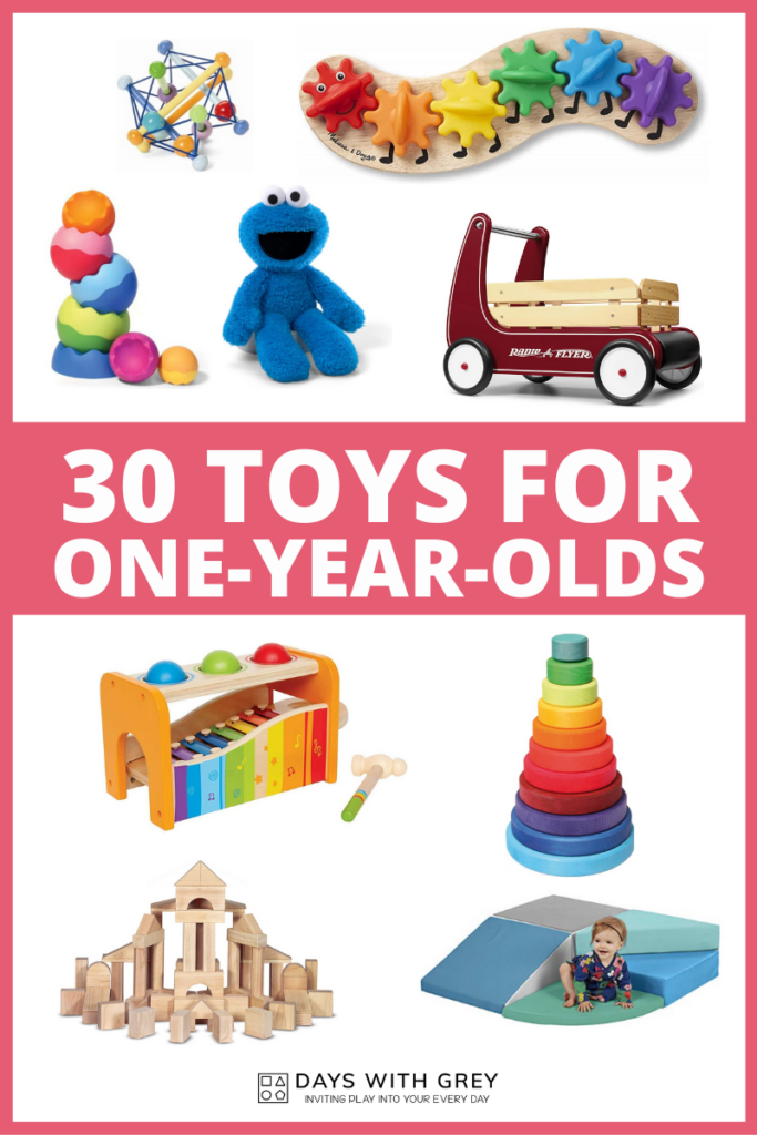 Toys for one year olds