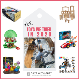 Toys We Tried (and are still enjoying) in 2020