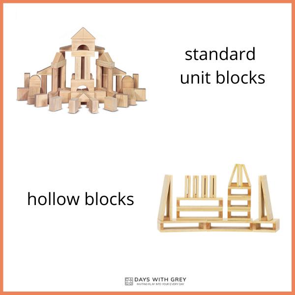 Preschool unit blocks