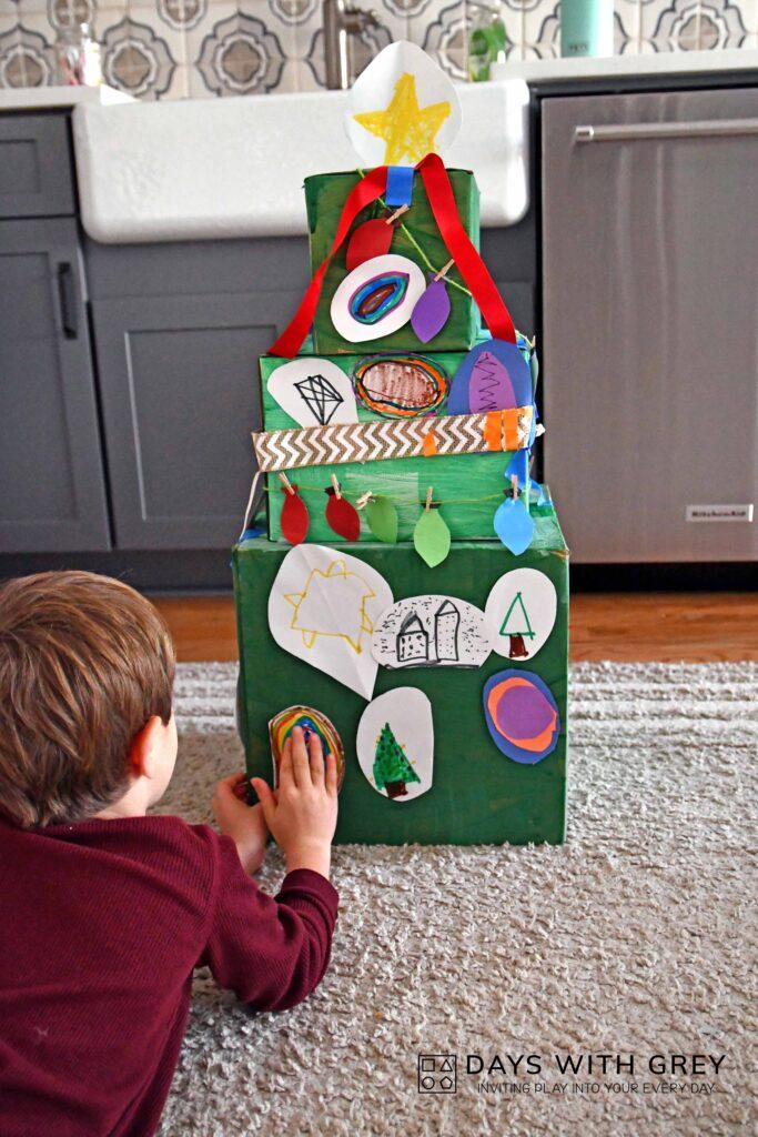 Easy Christmas art