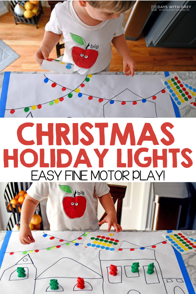Holiday fine motor activity