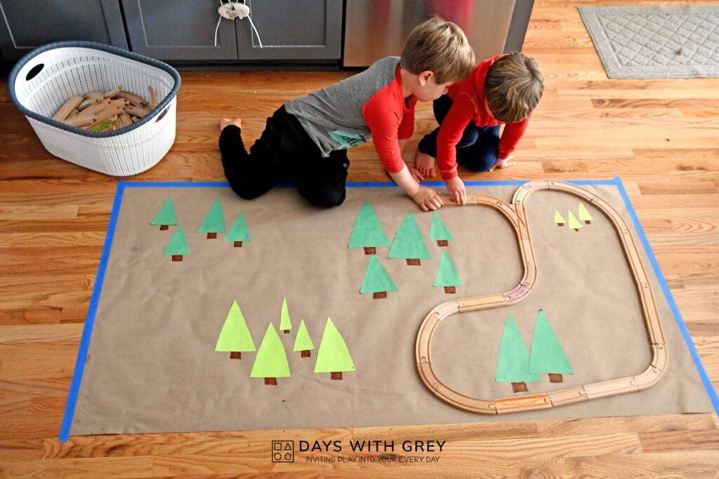 Indoor Christmas activity for kids
