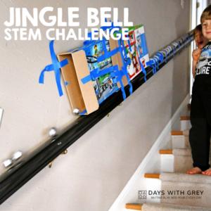 Jingle Bell Drop; a STEM Christmas Activity