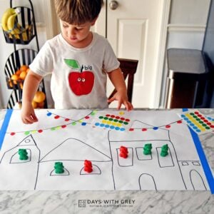 Christmas Lights Fine Motor Play