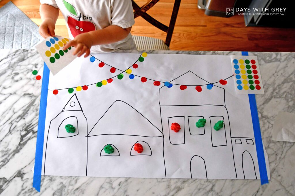 Pattern activity for kids