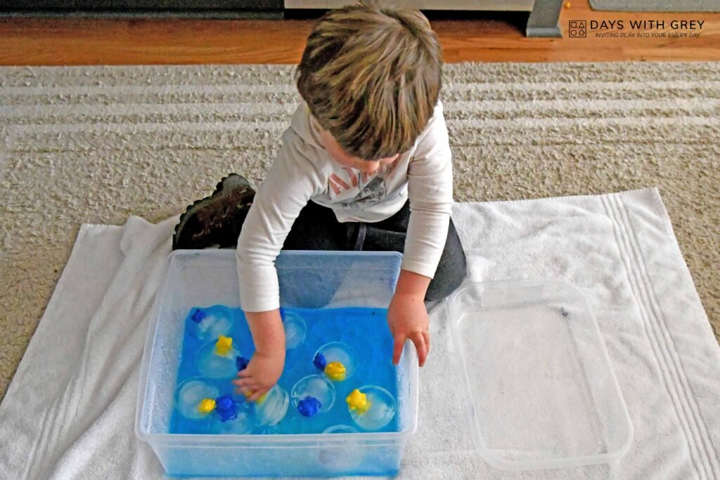Ice Play for Kids