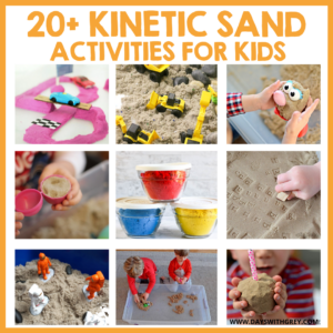 Kinetic Sand for Kids – 20+ Ways to Play