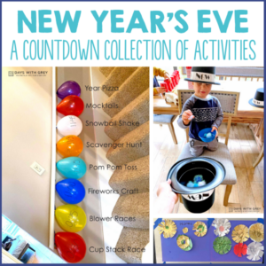 New Year's Activities for Kids