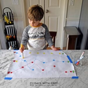 Dot to Dot Fine Motor Activity