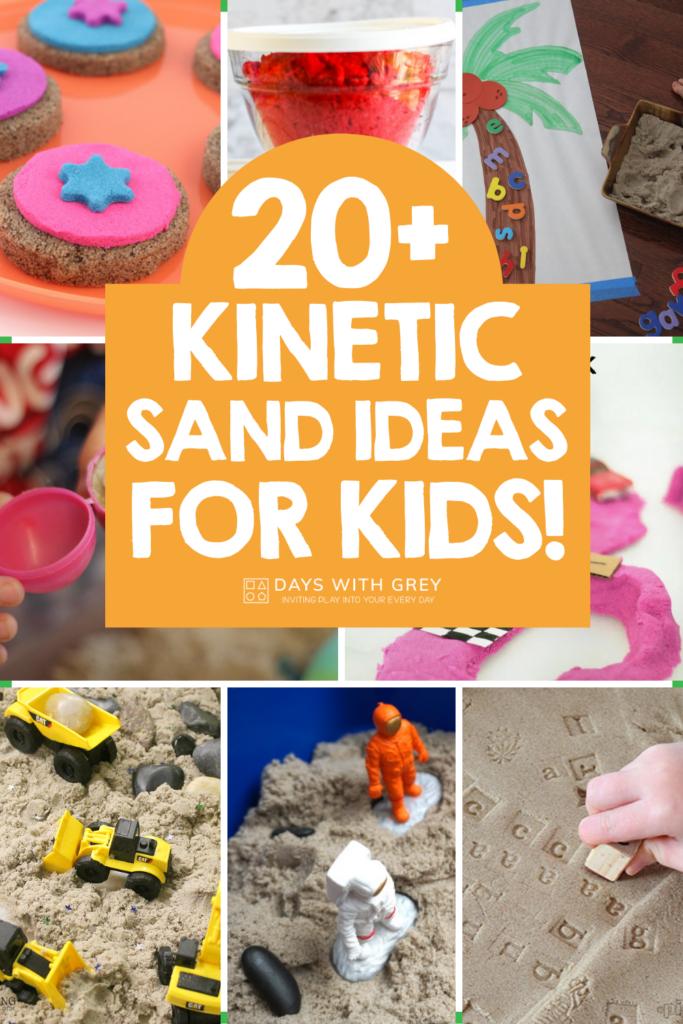 20+ kinetic sand ideas