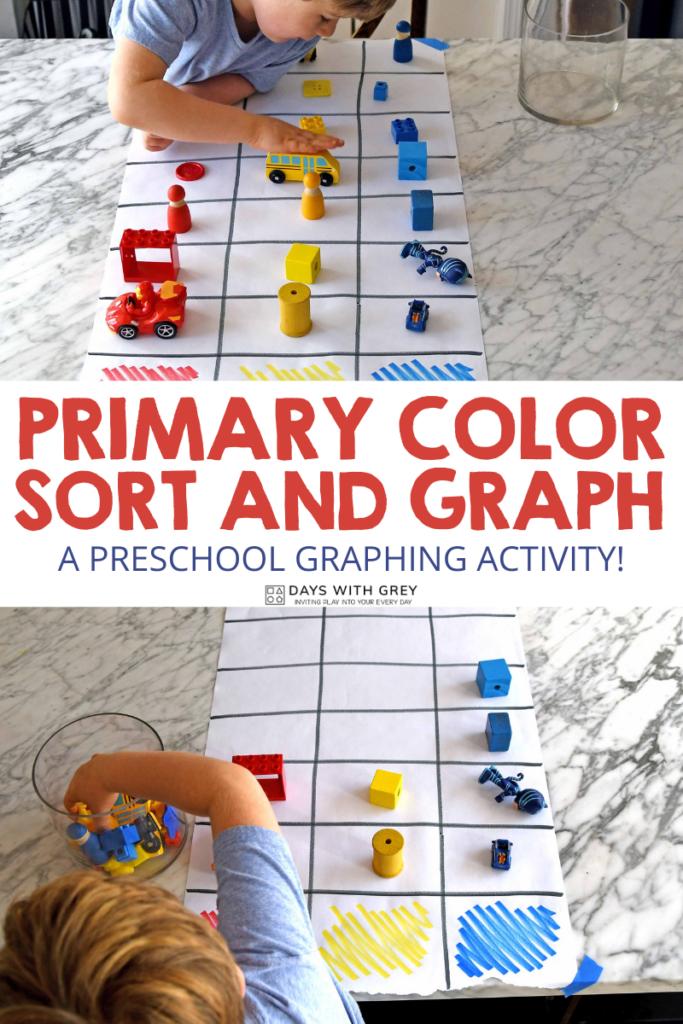 preschool graphing activity