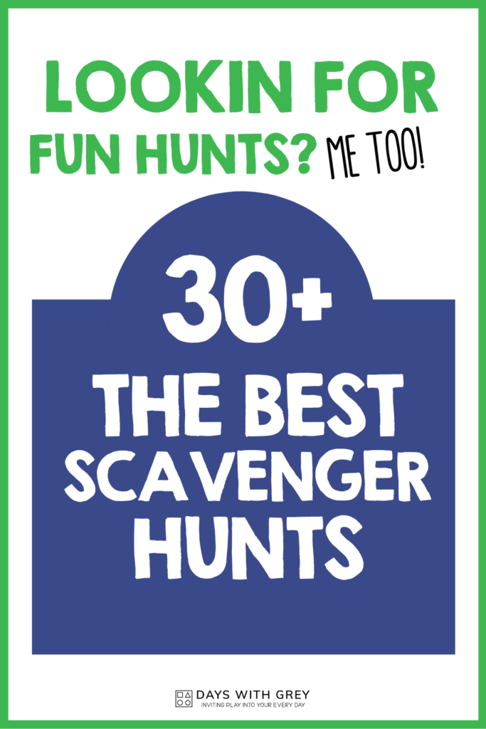 Best scavenger hunts for kids