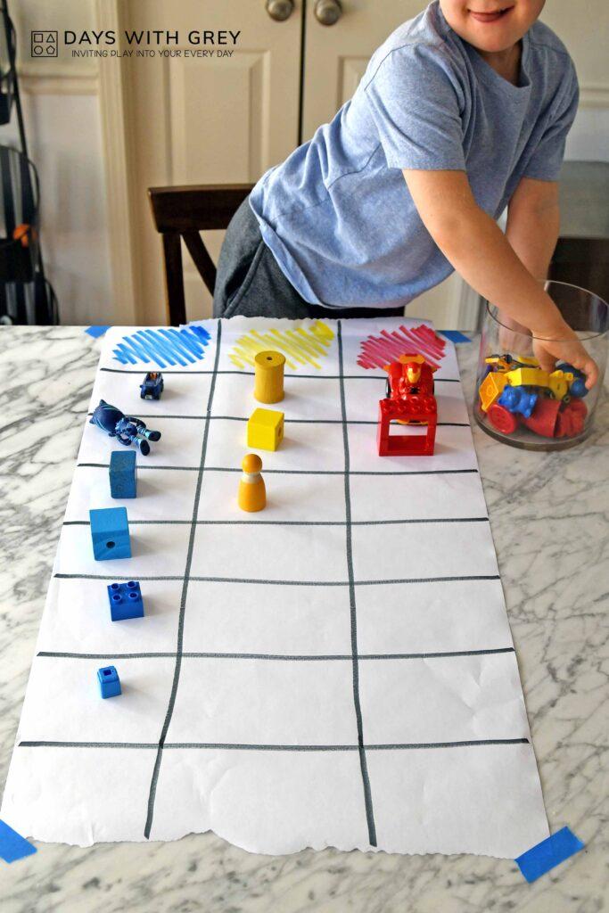 graphing activity for preschoolers